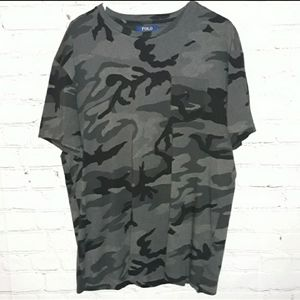 Polo By Ralph Lauren Sz: L Classic Fit Army Tee